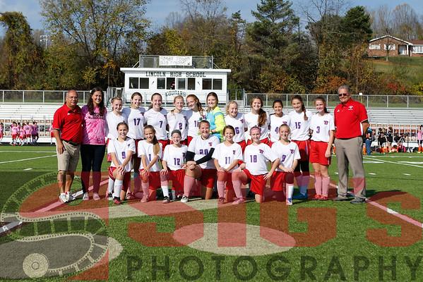10-29-16  Girls  Soccer vs SHMS County Championship