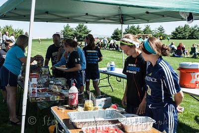2012 PHS Girls Soccer vs Columbus North