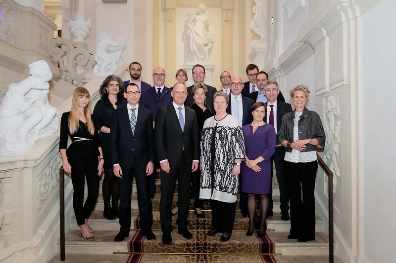 Finanzroadshow Liechtenstein im Palais Liechtensein