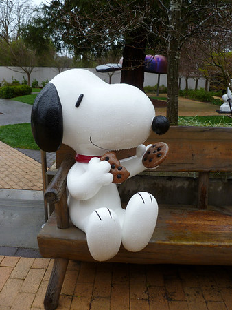 Charles M. Schulz Museum - Santa Rosa, CA - 13 March '11