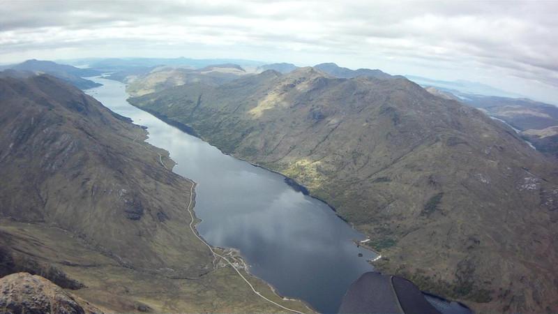 Crossing Loch ..... spectacular!