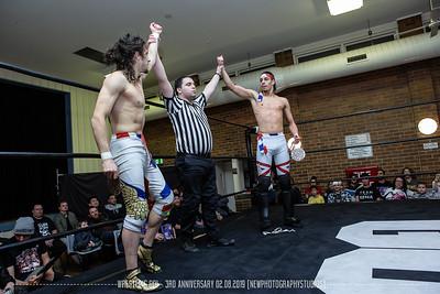 Wrestling Go! - 3rd Anniversary 02.08.2019