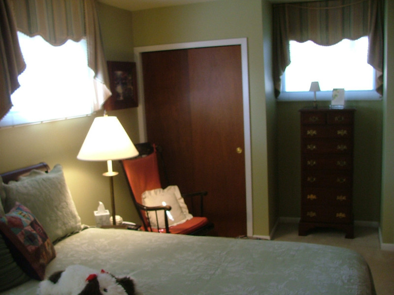 MBR and one of the smaller closets