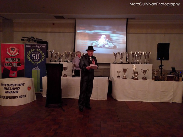 Motorsport Ireland  Karting Championship 2015 - Awards Presentation