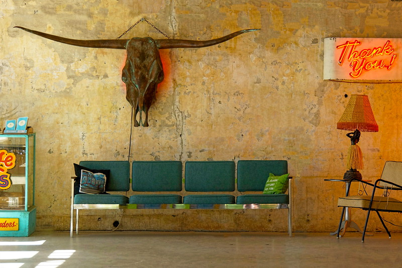 Texas Dermatology Waiting Room