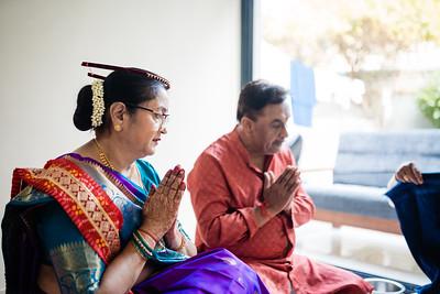 Priyanka Ganesh Pooja & Haldi