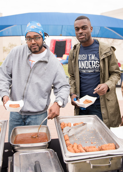 Nathaniel Lewis(left) and Adler Marchand at the 2016 Friday Fiesta event.