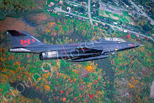 Flying Canadian Armed Forces McDonnell F-101B Voodoo Interceptor Airplane Pictures