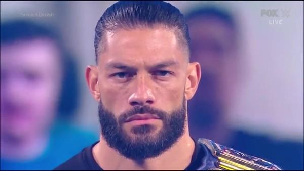 Roman Reigns - Screencaps / Smackdown Sept 4. 2020