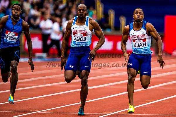 IAAF Diamond League Birmingham 20-08-2017