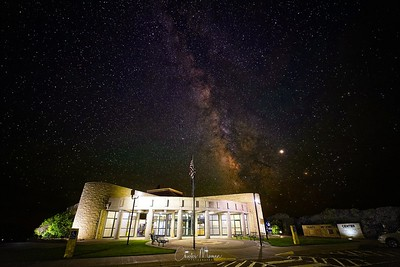 Kansas Welcome Center Milky Way Images