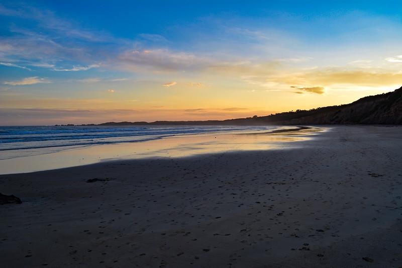 Anglesea - NOV2017 - Beach at sunset.jpg