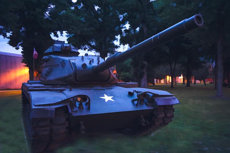 M-60 Tank