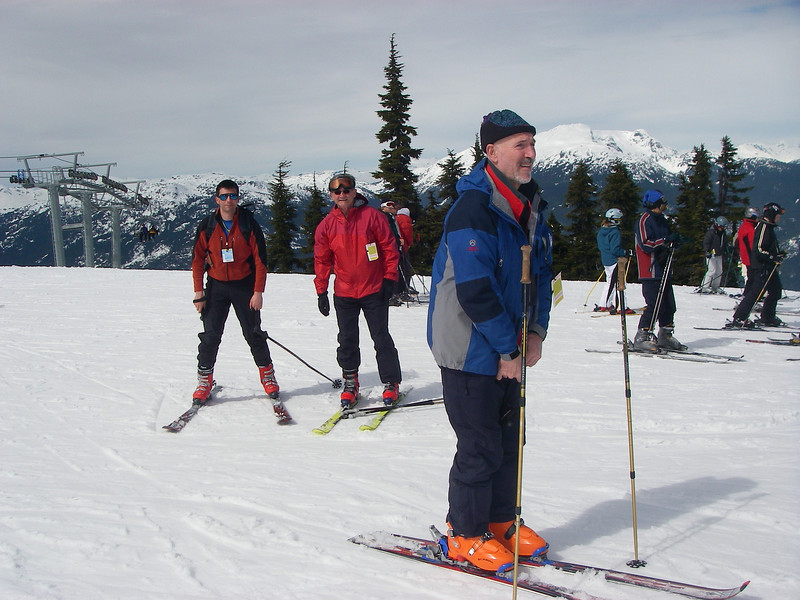 Whistler Ski Area - Average snow fall 402 inches/33.5 feet  10.22 meters per year Elevation gain: 5,280ft = 1.609m