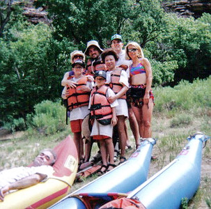 1995 - Rafting the Green River CO
