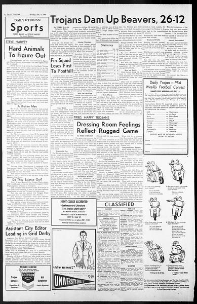 Daily Trojan, Vol. 57, No. 11, October 04, 1965