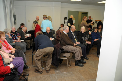 """Launch of Eric Koch's """"The Golden Years"""" March 16, 2013"""