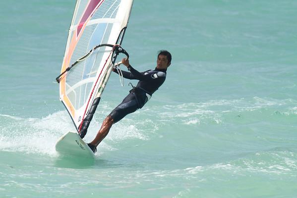 Windsurfing Kanaha Beach Park Maui