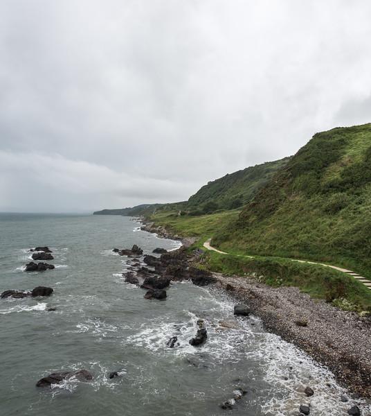 The Gobbins - Islandmagee, Northern Ireland, UK - August 14, 2017