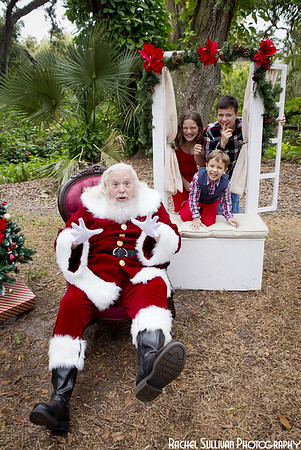 Santa 2019: Mike, Tyler, Genevieve, and Gideon