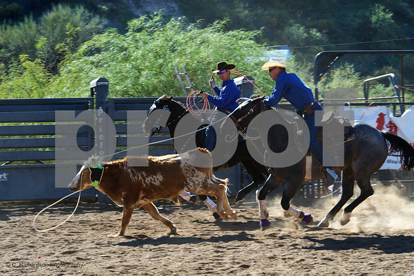 Day 1 Team Roping