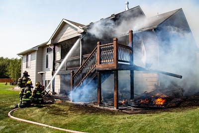 House Fire 1415 N. Blackstone (9/6/20)