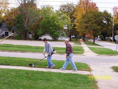 Community Events - 2006-2007 - 9/10/ and 10/10/2006 - HS Clean Up - Rotary Club