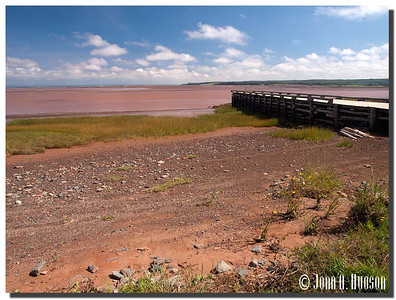 Maitland, at the mouth of the Shubenacadie River, Cobequid Bay
