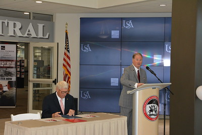 University of South Alabama-Pathway USA MOU Signing