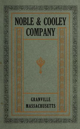 1919 Noble & Cooley Catalog
