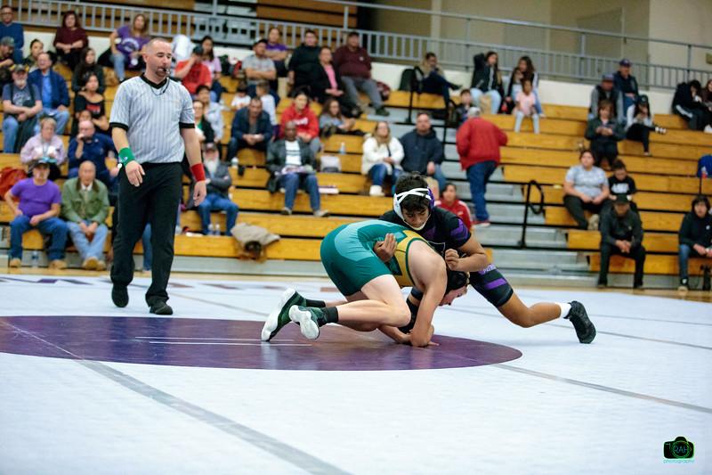 MHS vs Los Alamos Wrestling 1-15-2019