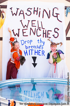 The Washing Well Wenches