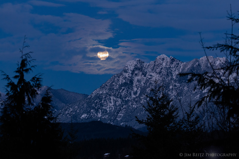 Middle Fork Moonrise