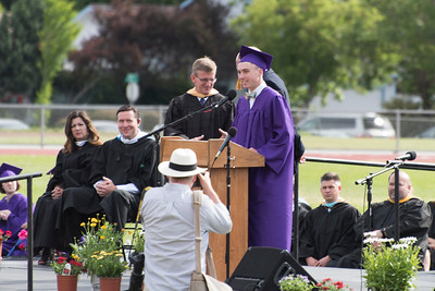 Ukiah High Graduation 2018