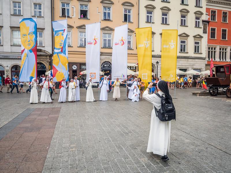 Sisters on Tour, Kraków, Poland