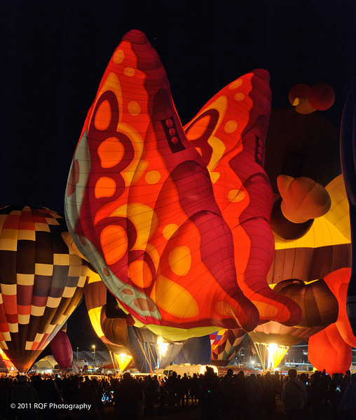 Albuquerque Balloon Fiesta:  Balloon Glow