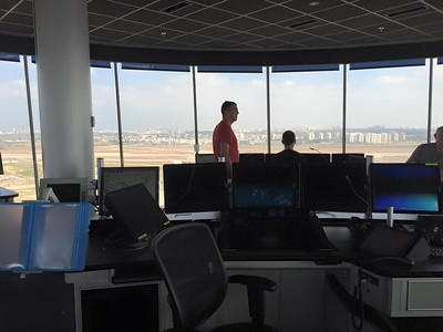 Ben Gurion Control Tower