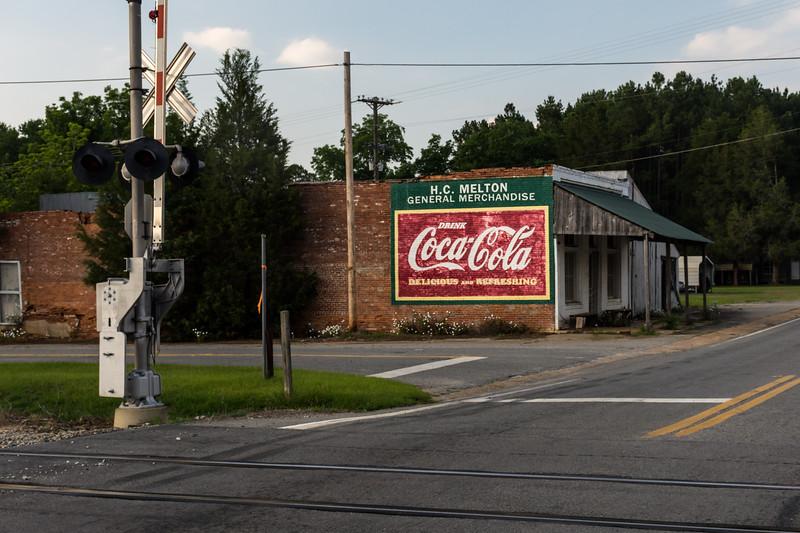 GA, Allentown - Coca-Cola Wall Sign