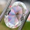 2.32ct Flat Oval Shape Diamond GIA J SI1 24