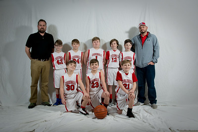 Kingston Springs Cardinals 4th Grade Boys Team  Pictures