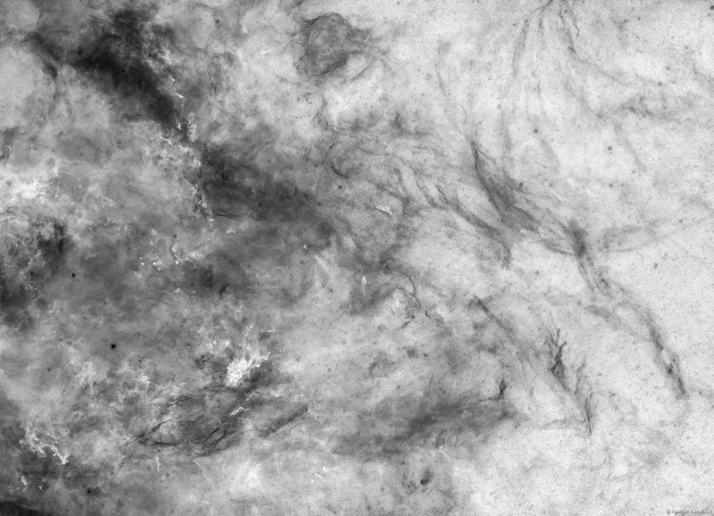 West of Sadr, IC 1311, B 343 - 344 and LDN 871 - 894 (inverted)