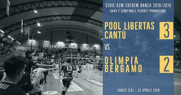 PO-Semi-Gara 2: Pool Libertas Cantù - Olimpia Bergamo