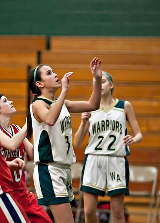 Coughlin at Wyoming Area Freshman Girls 01/17/11