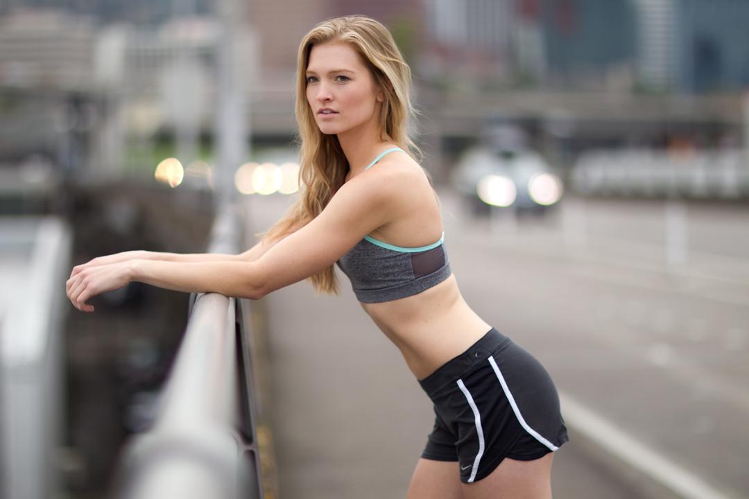 fitness model on bridge