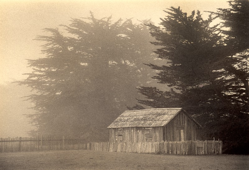 One eyed Jack's Cabin, Sea Ranch, California