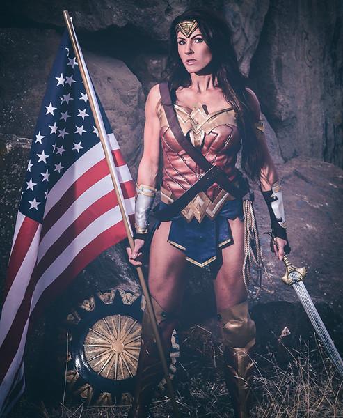 Kristy as Wonder Woman