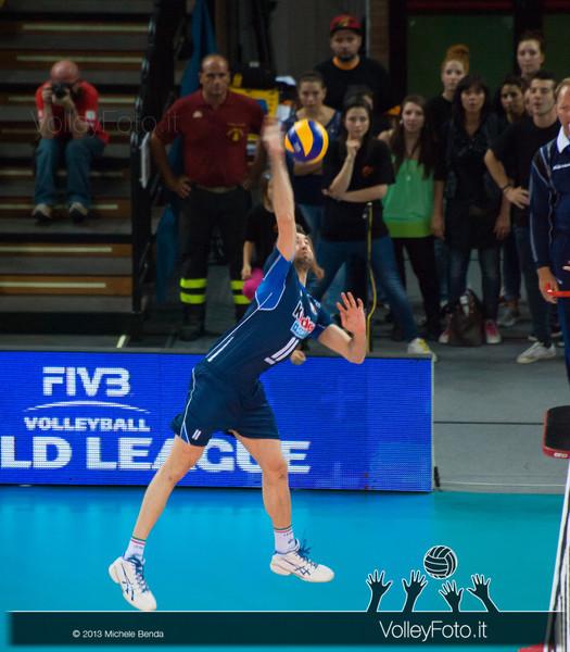 attacco Cristian Savani [ITA] - Italia-Iran, World League 2013 - Modena