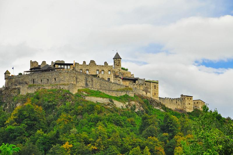 castle ruins in Austria near Villach