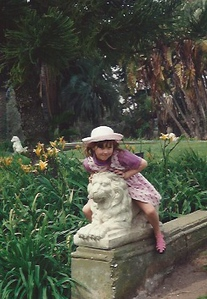 Devon - on lion statue 1.jpeg