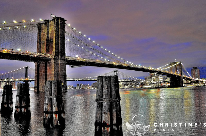 Brooklyn Bridge Lights II